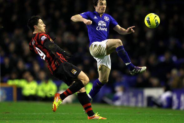 Everton estaba dispuesto a hacer valer su localía.