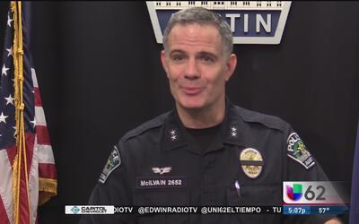 Policía de Austin se prepara para mantener la seguridad durante la March...