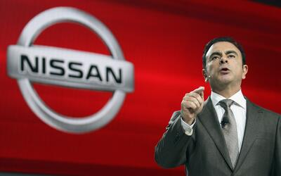 Carlos Ghosn presidente y CEO de Nissan