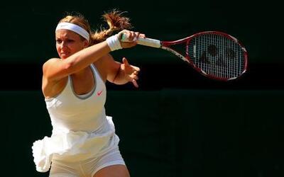 La alemana partió como favorita 23 en Wimbledon y superó a la cuarta fav...