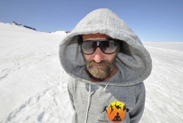 Este holandés es 'el hombre de hielo' debido a la resistencia de su cuer...