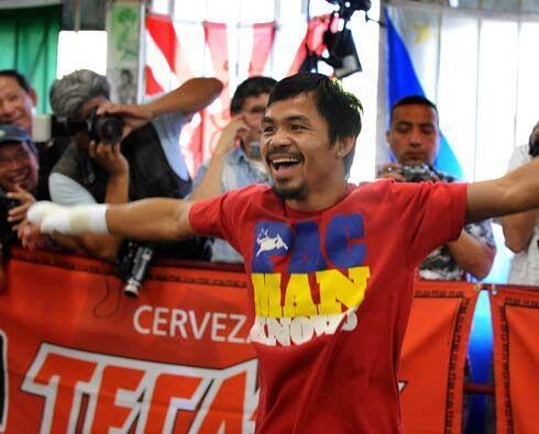 El filipino es el retador en esta pelea, pero también es el favorito en...
