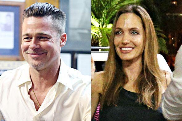 ¿Qué tiene a Brad y Angelina tan felices? Mira aquí...