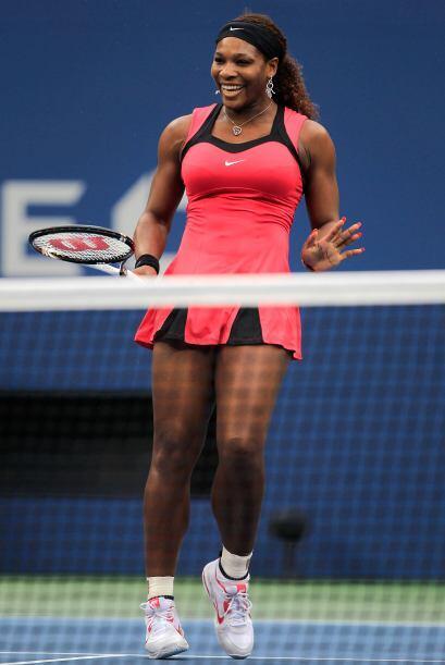 """Williams: """"Sam ha sido muy buena, jugó un gran tenis, y yo hice lo mejor..."""