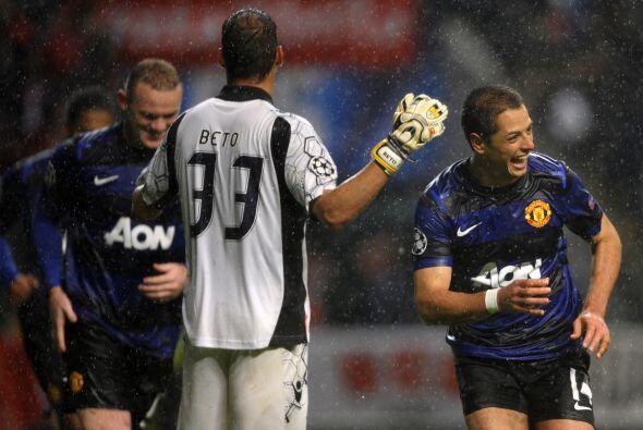 Ya al minuto 90 Javier Hernández acabó firmando la reacción del United.