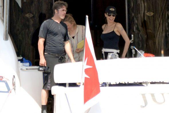 Brad y Angelina en verdad que lucían felices y muy relajados.