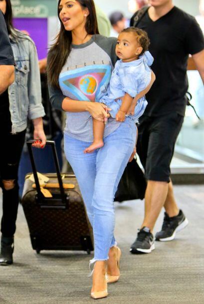 Sin duda la vida de Kim ha cambiado por completo al convertirse en madre.