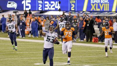 Super Bowl: Intercepción de Malcolm Smith regresada para touchdown