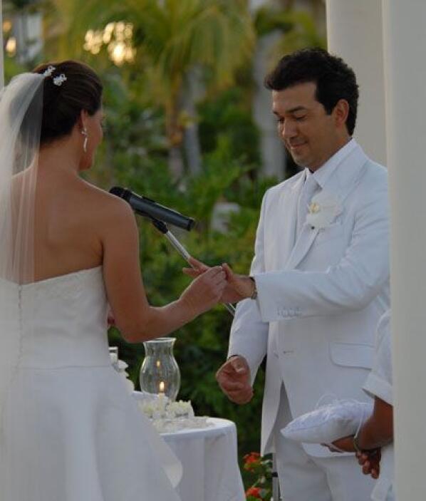 La celebración se realizó en República Dominicana y estuvo llena de deta...