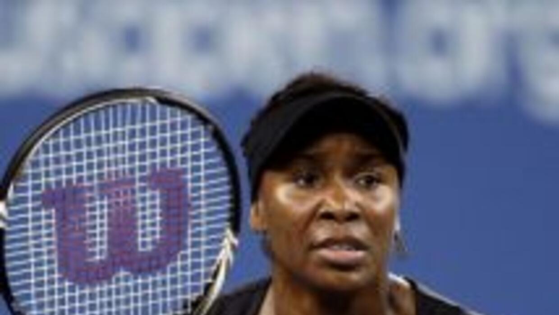 Venus Williams es la segunda jugadores que se retira en este US Open por...