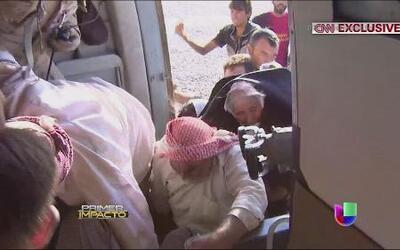 Dramática operación para rescatar refugiados en Irak