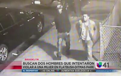 Buscan a hombres que intentaron violar a una mujer en Brooklyn