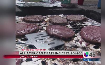 Retiro masivo de carne molida