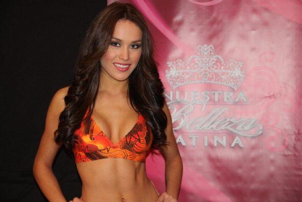 Bárbara Falcón de 23 años audicionó en Houston.