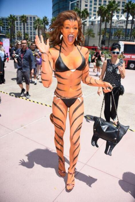 Los tigres no siempre causan miedo, a veces también causan suspiros.