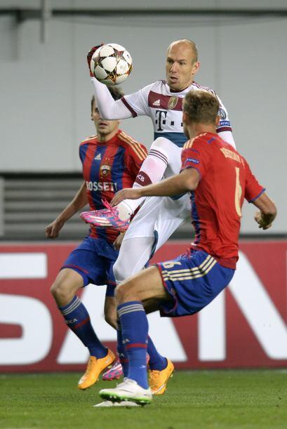 Tras el gol, Bayern Mñunich generó pocas oportunidades y no fueron capac...