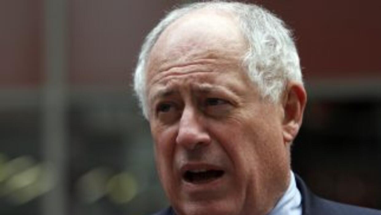 El gobernador de Illinois, Pat Quinn. Dijo que la decisión no fue muy fá...