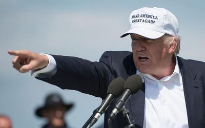 """Trump asegura que """"la gente quiere ver fronteras"""""""