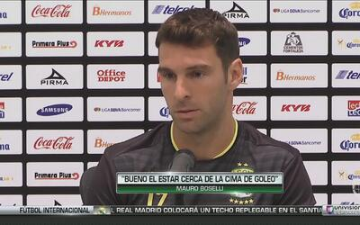 Mauro Boselli busca el triplete como campeón goleador, aunque quiere lig...