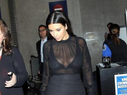 Kim Kardashian reapareció tras presentarse en la MET Gala en Nuev...