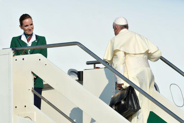 Este es el segundo viaje del papa Bergoglio (el pasado 8 de julio viajó...