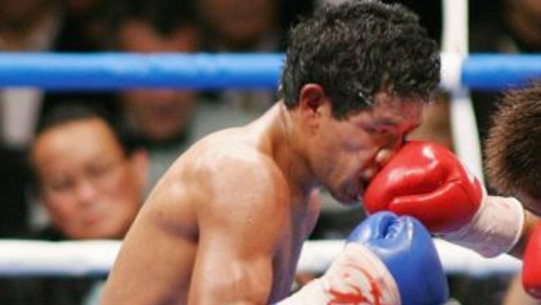 Genaro 'Poblanito' García no recibió los golpes de Bautista, en su lugar...