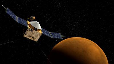 Hispanos detrás del lanzamiento de MAVEN de la NASA que viaja a Marte