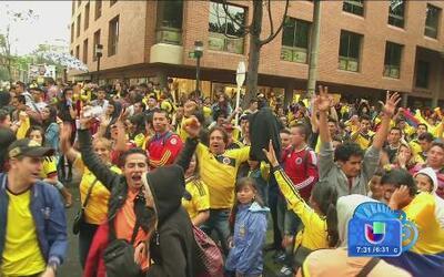 Cómo se viven las horas previas al partido de Colombia