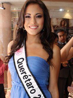 La segunda representante de Querétaro, Paulina Cabrera Balderas de 22 años.