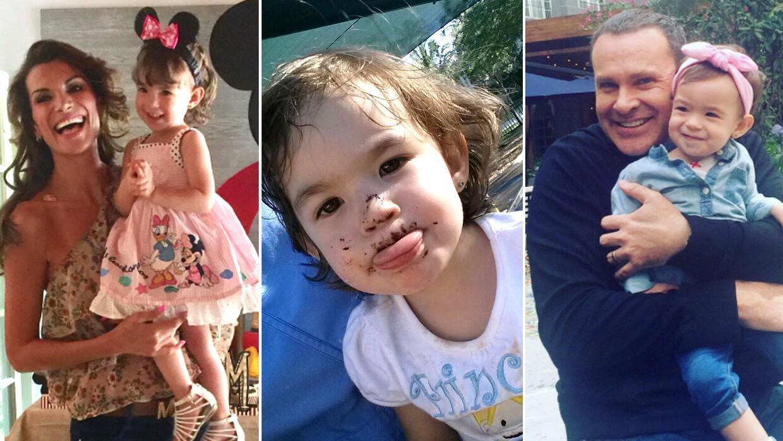 Michelle Tacher cumple 2 años