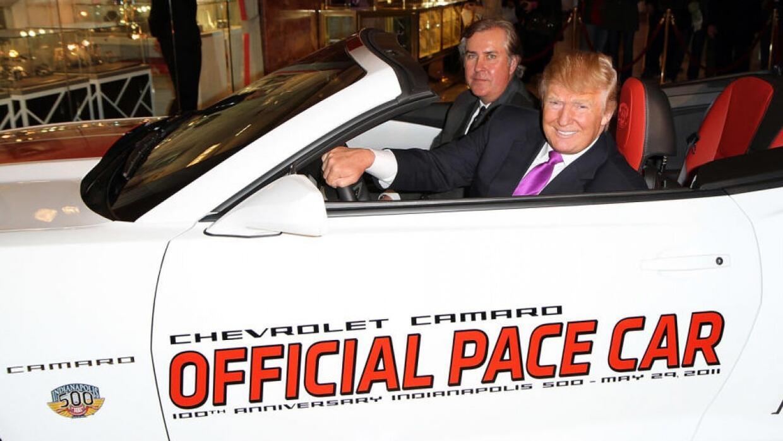 Conoce los autos del garaje de Donald Trump
