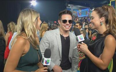 Casper Smart mostró el look ideal para la fiesta en Miami