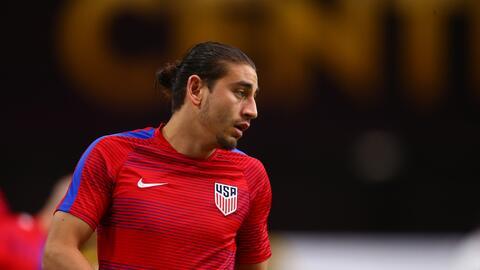 Alejandro Bedoya no podrá jugar ante Cuba y Nueva Zelanda.