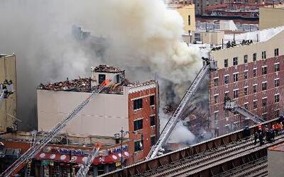 Tragedia en Nueva York por desplome de dos edificios en barrio latino