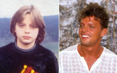 Luis Miguel ayer y hoy