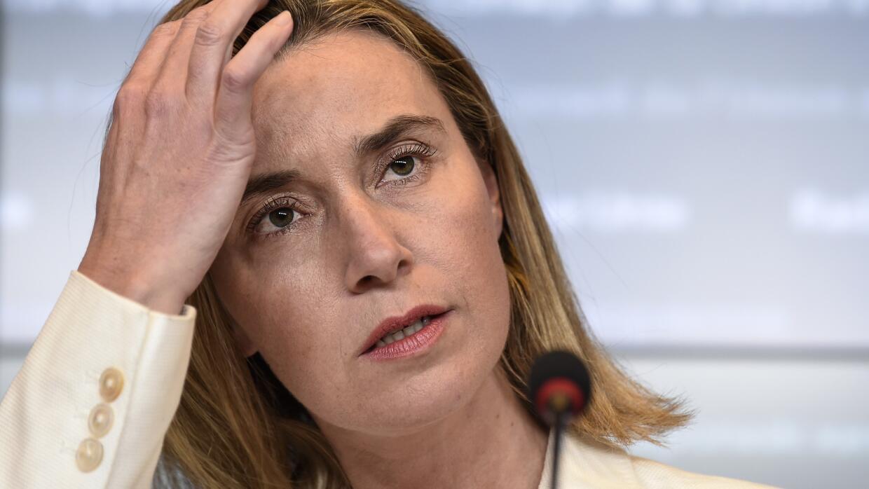 Federica Mogherini, jefa de la diplomacia de la UE