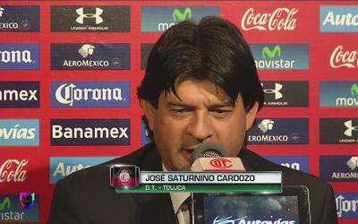 """José Saturnino Cardozo: """"Sufrimos con el empate"""""""