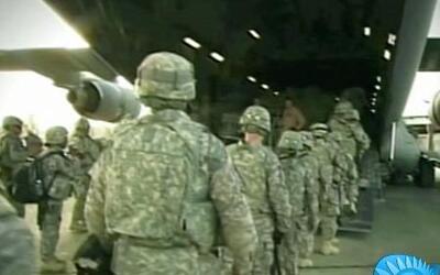 EE UU envía contingente de tropas a Irak