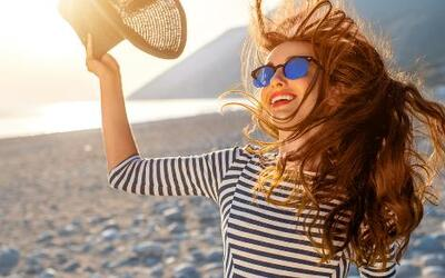 Es hora de que disfrutes tu pelo en verano.