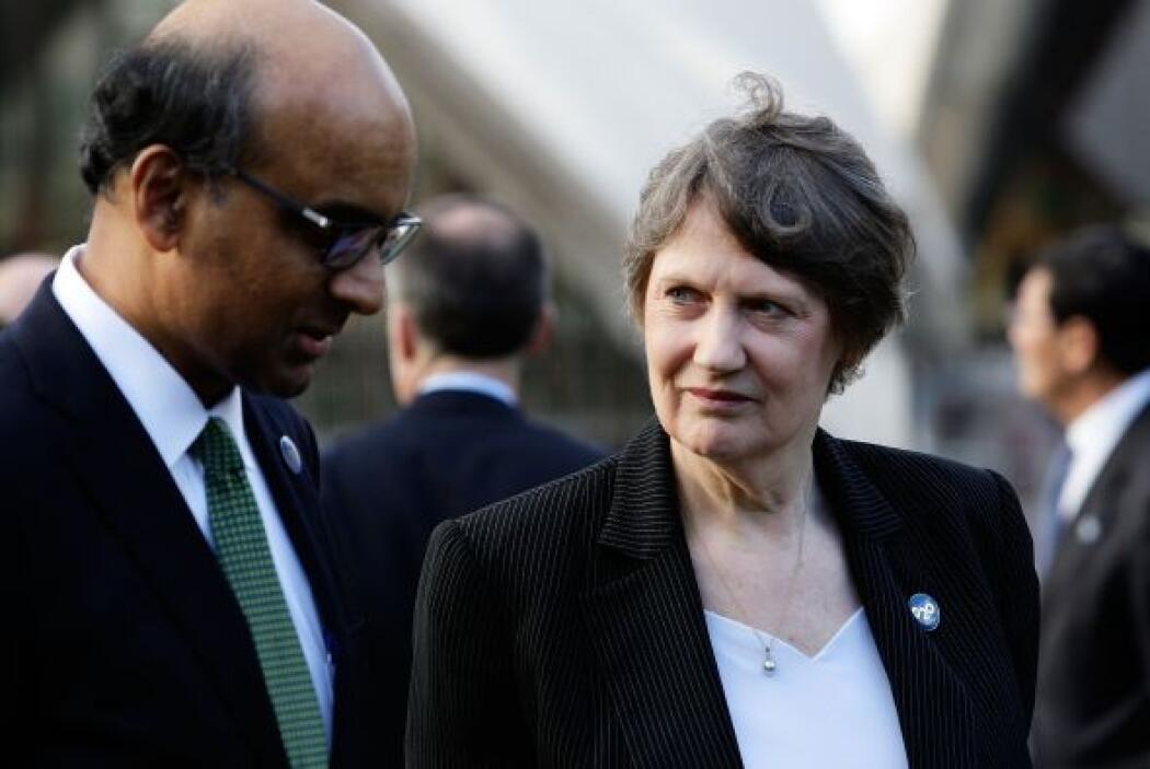 23.- HELEN CLARK: Fue Primer Ministro de Nueva Zelanda en tres mandatos...