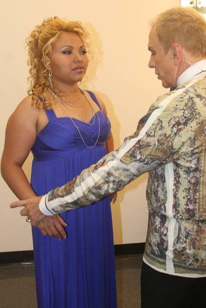 A pesar de las críticas ella no perdió la fe, así que Osmel y la jueza i...