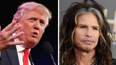 Donald Trump ya no usará tema de Aerosmith para sus asambleas trumpaersm...