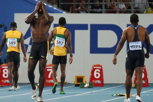 Bolt fue la víctima del cambio a la regla que impuso la IAAF en 2010. De...