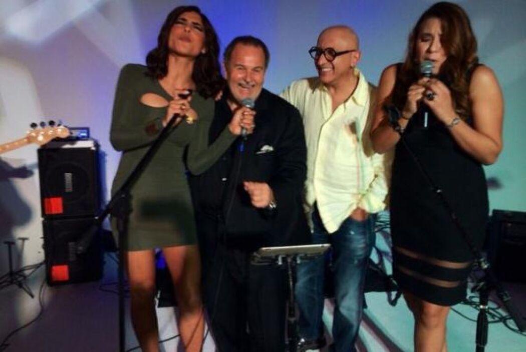 Alejandra Espinoza, Raúl de Molina y Alberto Ciurana mostraron su talent...
