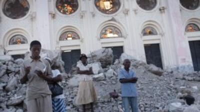 Tomás sería la primera tormenta grande en azotar Haití desde que el terr...
