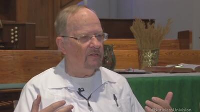 Asilo para migrantes en una iglesia californiana