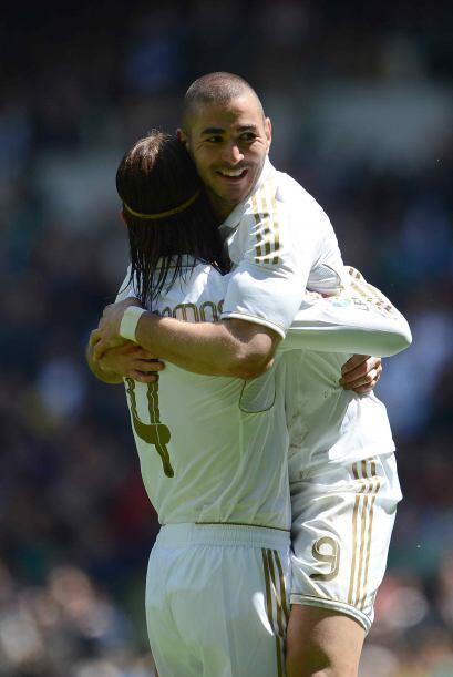 Karim alcanzó los 20 goles en el torneo, para que junto a 'CR7' y...
