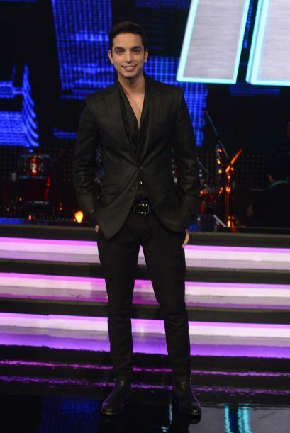José Enrique al final de la sexta gala.