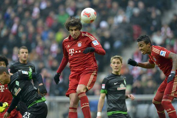El futbolista vasco se sumó a los anotadores de la goleada del Bayern Mu...