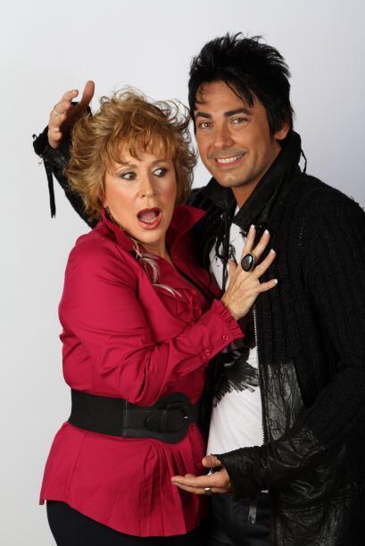 Con Laura nunca se sabe, en las telenovelas es la malvada de la historia...